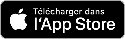 Application sur l'App Store